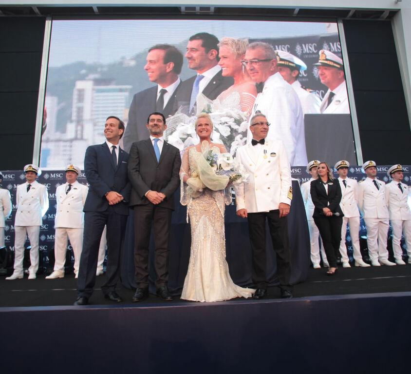 Inauguração MSC Seaview